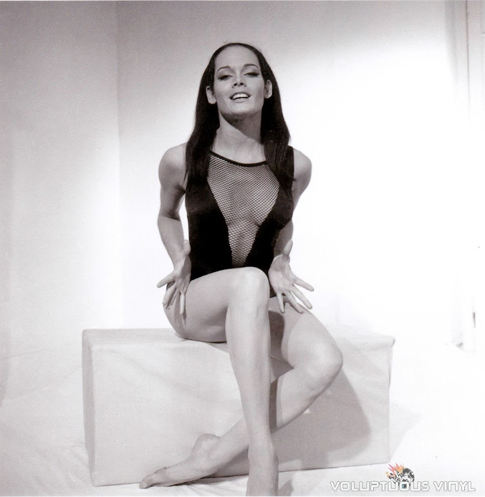 Martine Beswick Black Swimsuit Thunderball