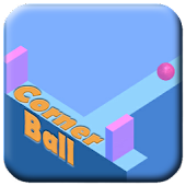 Cornerball - Tap to turn