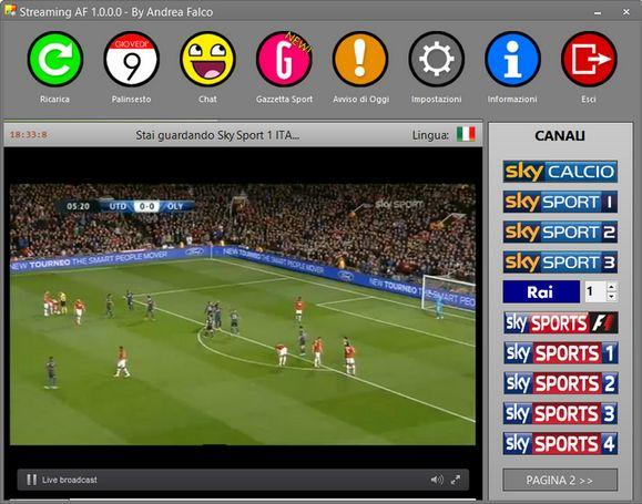 Come fare per vedere le partite di calcio sul PC