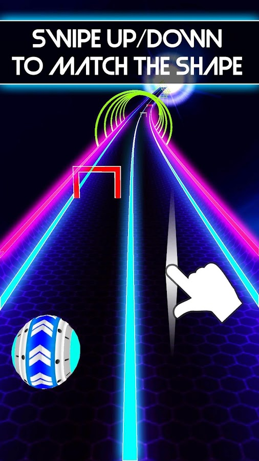 Neon Run- screenshot