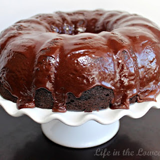Chocolate Crack Cake.