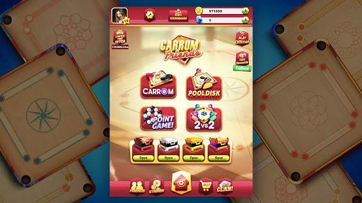 Carrom Friends : Carrom Board Game modavailable screenshots 19