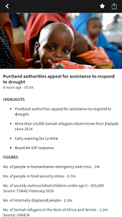 ReliefWeb Headlines- screenshot thumbnail