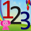 Toddler numbers Pre K Math App icon