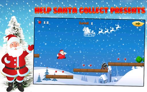 Santa run Game Christmas games