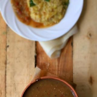 TamBrahm Style Kathirikkai Gotsu/Gostu | Brinjal Gostu/Gotsu | Sidedish for Upma/Pongal | Authentic Recipe | Stepwise Pictures.