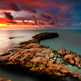 long hard way by Hendra Heng - Landscapes Waterscapes