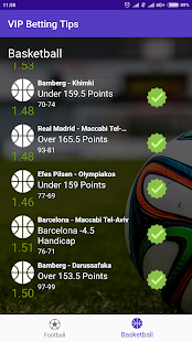 VIP Betting Tips & Odds Screenshot