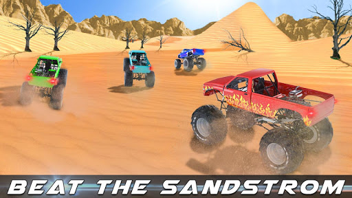 Monster Truck Desert Death Race 1.1 screenshots 8