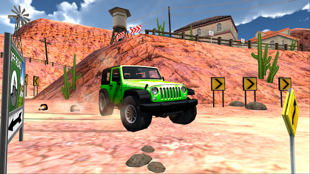 Extreme SUV Driving Simulator apk screenshot