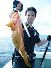 Photo: やったー! 高級なお魚 キジハタとったどー!