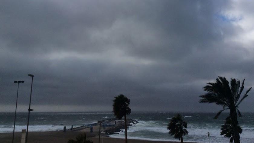 Las tormentas regresan a Almería durante tres días.