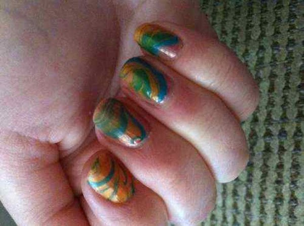 Tie-dye Your Fingernails Yourself Recipe