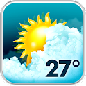 Animated Weather Widget, Clock icon
