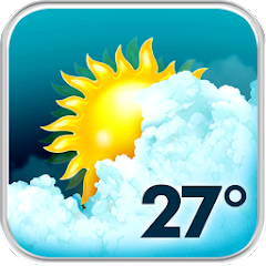 google play Animated Weather Widget, Clock for pc