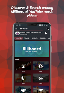 Pi Music Player - мп3-плеер, YouTube music videos Screenshot