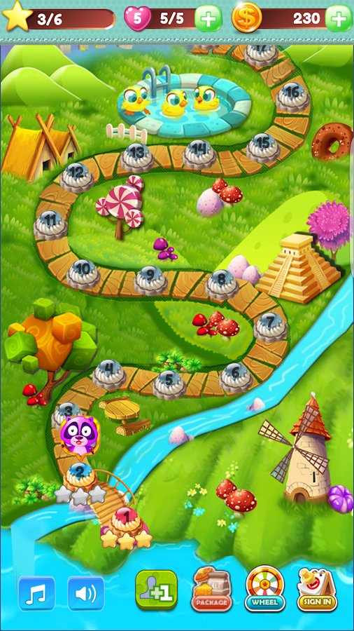 Cookie Bloom Puzzle Game- screenshot