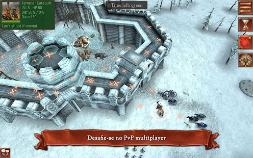 Hex Commander: Fantasy Heroes Screenshot