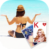 Solitaire Beach Yoga Theme