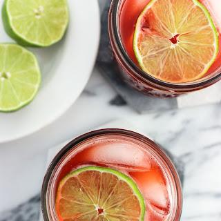 Strawberry Drinking Vinegar with Balsamic.