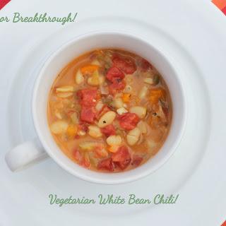 Vegetarian White Bean Chili!
