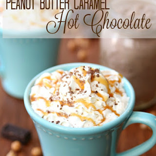 Simple Caramel and Peanut Butter Hot Chocolate