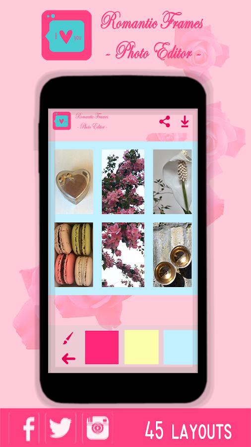 Мarcos Románticos -Foto Editor - Aplicaciones Android en Google Play