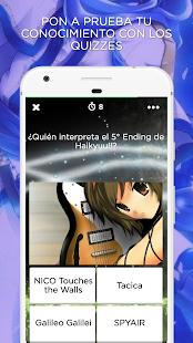 Amino para Música Anime - náhled