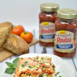 Easy Slow Cooker Lasagna with Veggies