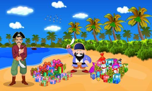 게임 산타 대 해적 1 탈출