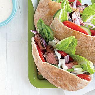 Greek-Seasoned Steak Sandwiches