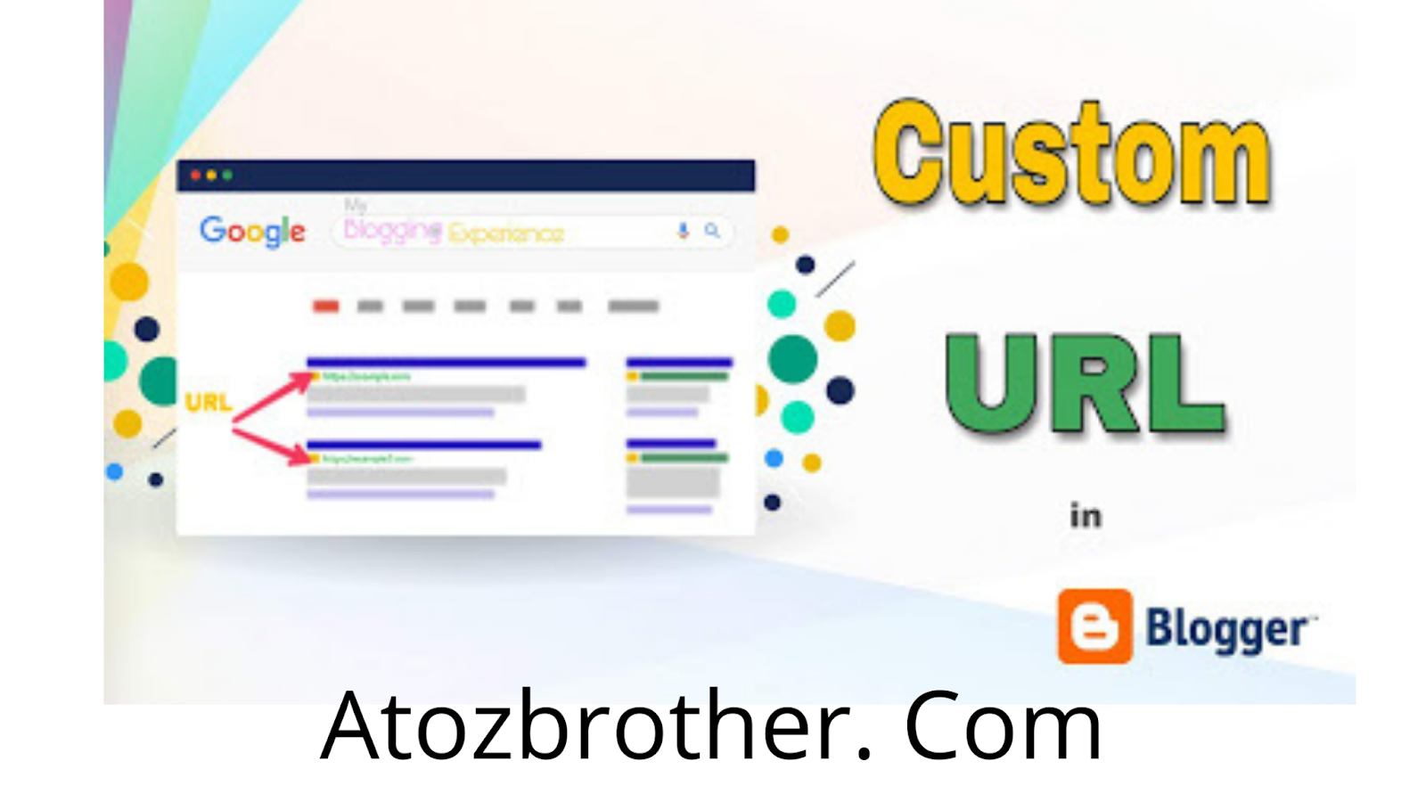 custum url in blogger | Blogger SEO in english | what is seo, how to do | Blogger SEO Settings