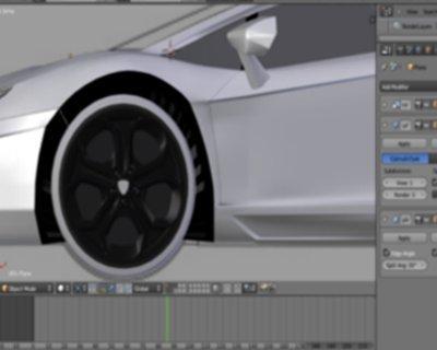Blender 3D screenshot 7