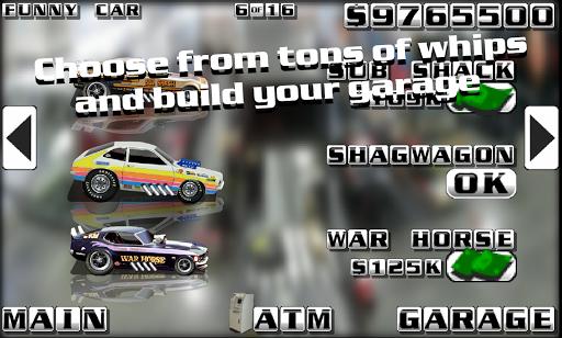 Burn Out Drag Racing screenshot