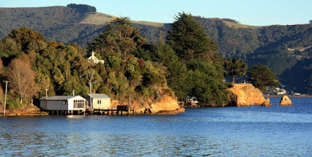 Photo: our 'home' in dunedin for may and june