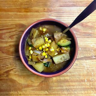 Zucchini Corn Soup