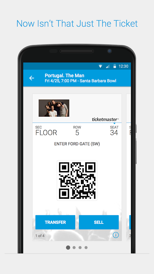 Ticketmaster - screenshot