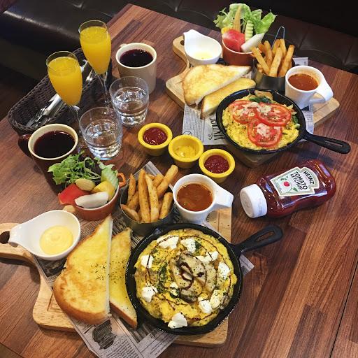 西班牙馬鈴薯烘蛋早午餐💲260 法國奶奶野菇起士烘蛋早午餐💲270