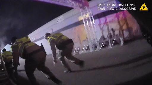 Video: Las Vegas police release dramatic body-cam footage