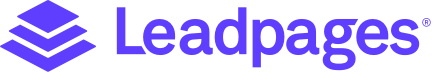 Leadpages Logo - Purple