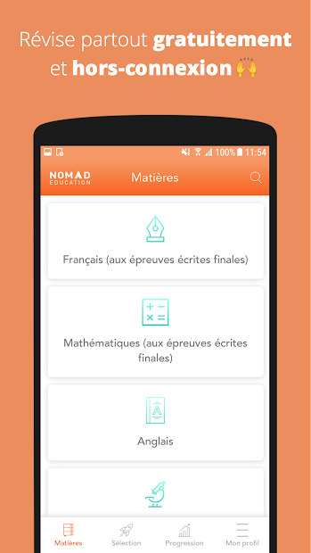 Brevet 2019 Android App Screenshot