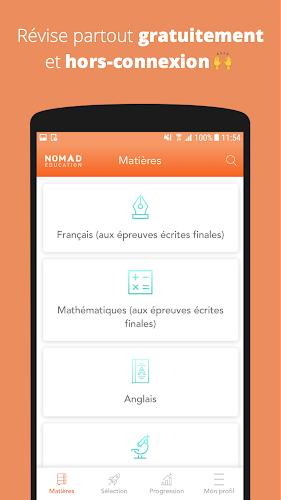 Collège - Brevet 2019 - 6ème, 5ème, 4ème, 3ème Android App Screenshot