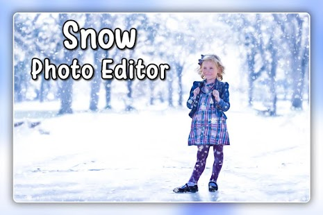 Snowfall Photo Frames - Snowfall Photo Editor - náhled