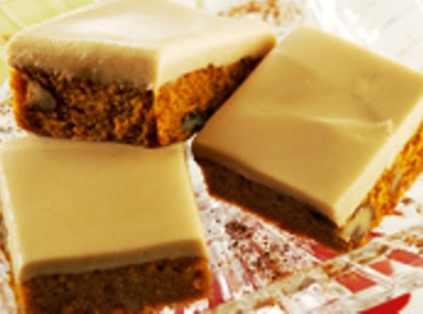 Penuche Pumpkin Bars Recipe