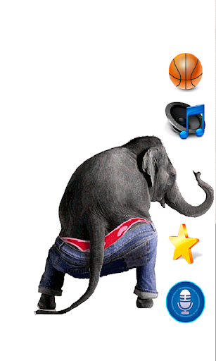 Dancing Talking Elephant 1.3 screenshots 1