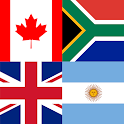 Flags & Capitals Quiz: World Geography Games icon