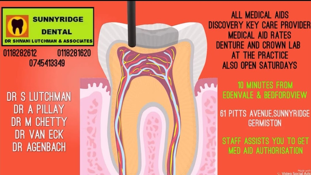 sunnyridge dental dr s lutchman associates dentist in