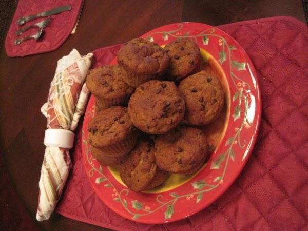 Mini Chocolate Chip-banana Muffins  (gluten Free ) Recipe