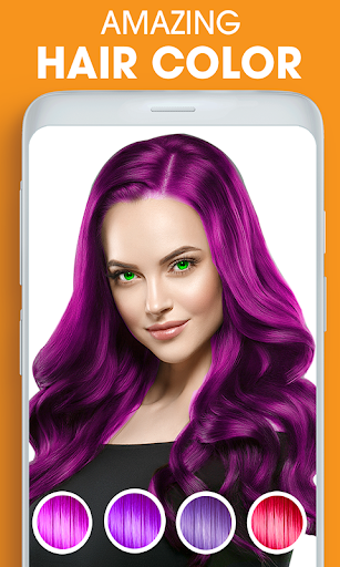 Eye, Hair Color Changer: Eye Colour Photo Editor 6.0 screenshots 2