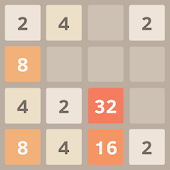 2048 Game in Night Mode
